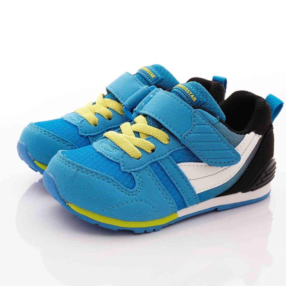 Moonstar日本月星 - 日本月星機能童鞋-HI系列2E機能款 (中小童段)-藍