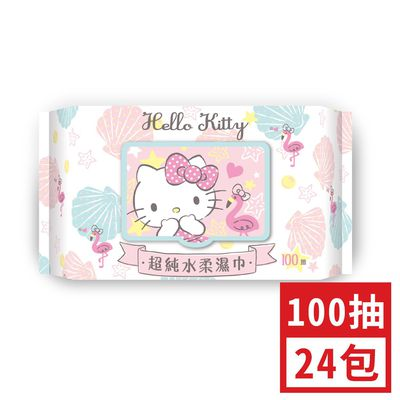 加蓋Hello Kitty超純水柔濕巾