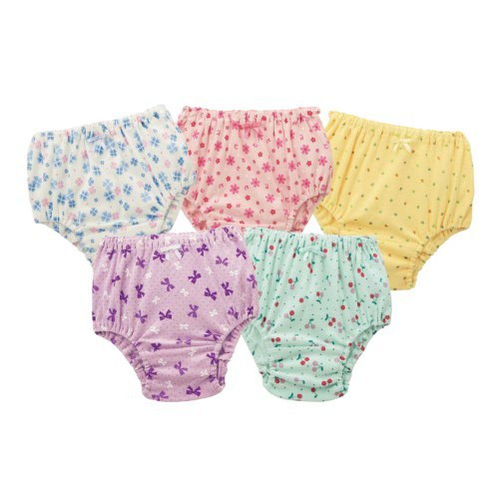 日本千趣會 - GITA 超值內褲五件組-滿版圖案