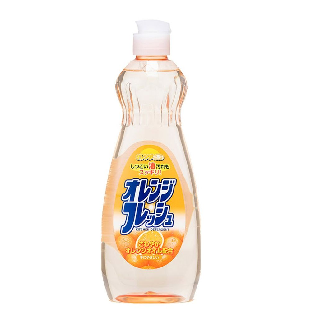 日本 ROCKET - 中性洗碗精-柑橘-600ml-600ml x 1瓶