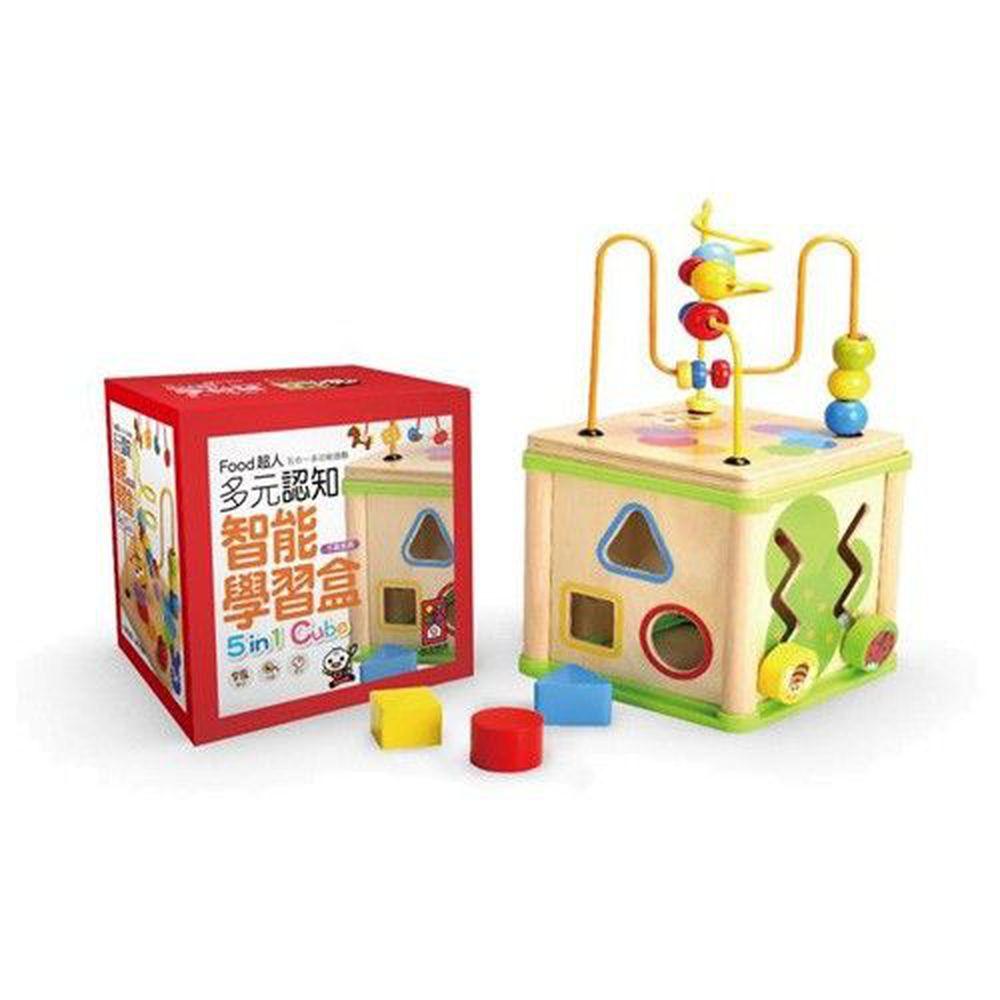 風車圖書 - 寶寶多元智能學習盒-FOOD超人*新版*