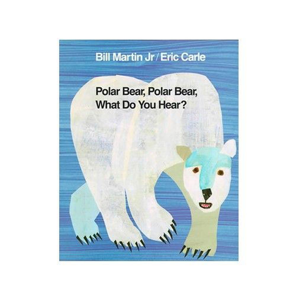 麥克兒童外文書店 - 有聲書-POLAR BEAR WHAT DO YOU HEAR/BK+CD