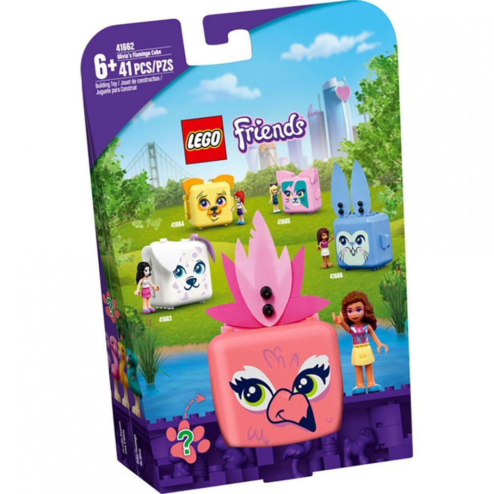 樂高 LEGO - 樂高積木 LEGO《 LT41662 》Friends 姊妹淘系列 - 寵物秘密寶盒-奧麗薇亞的紅鶴-41pcs