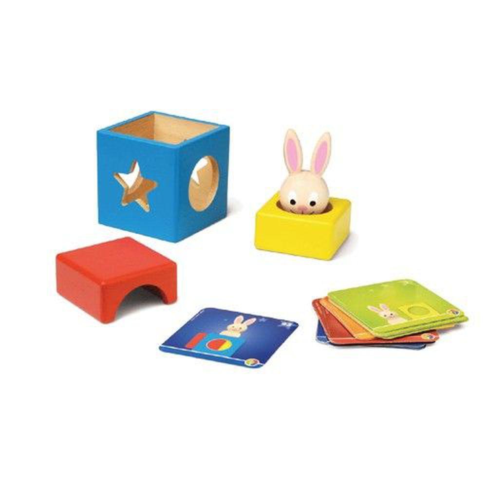 上誼文化 - 【比利時SMART GAMES】兔寶寶魔術箱-2-5歲