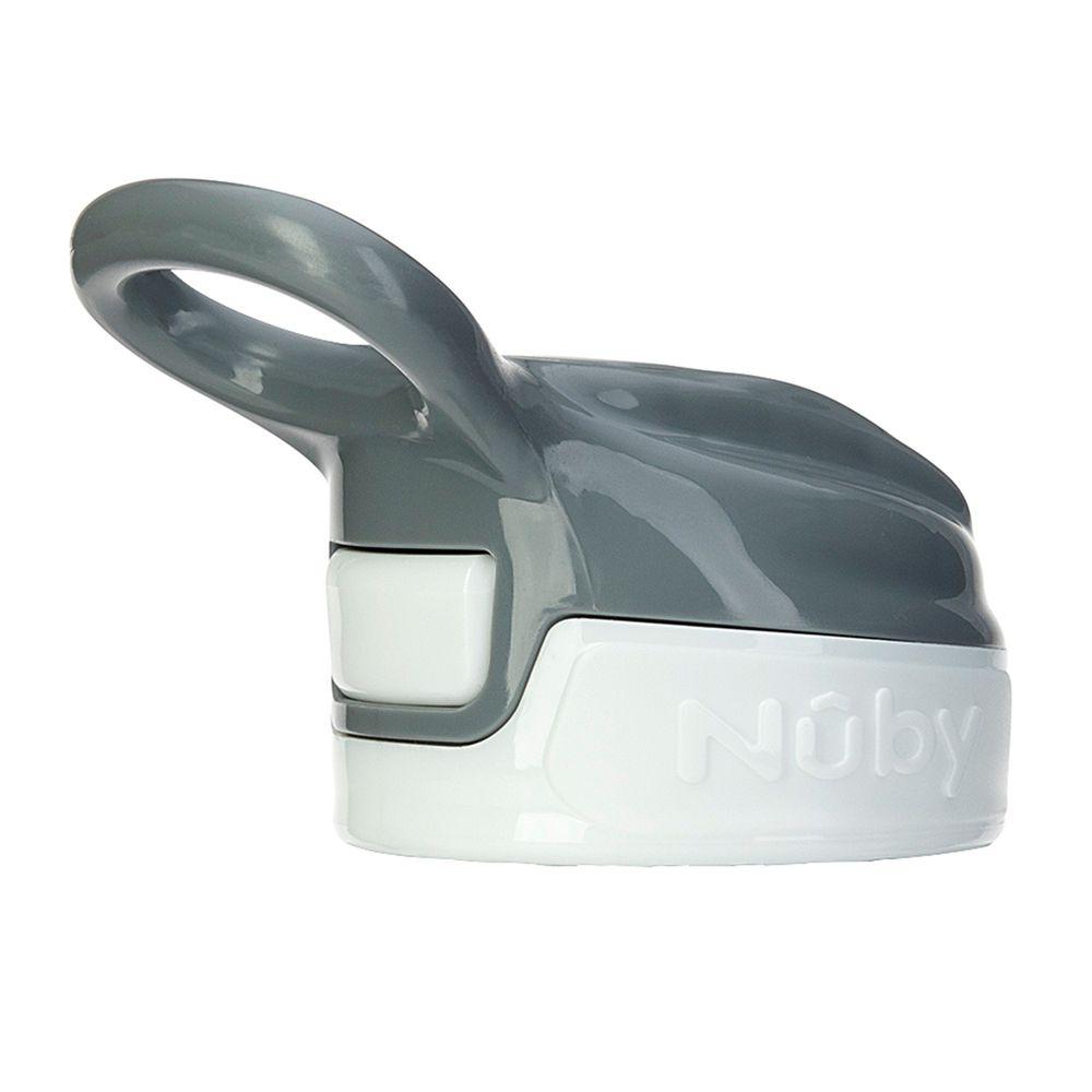 Nuby - 300ML不銹鋼真空隨行杯-上蓋配件-(不含鴨嘴)-雪花白