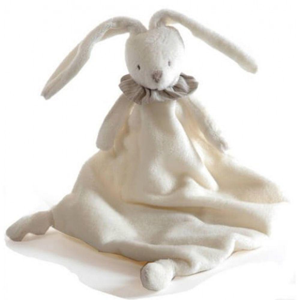 比利時 Dimpel - 優雅兔兔-指偶系列(不附奶嘴鍊)-白色 (29cm)