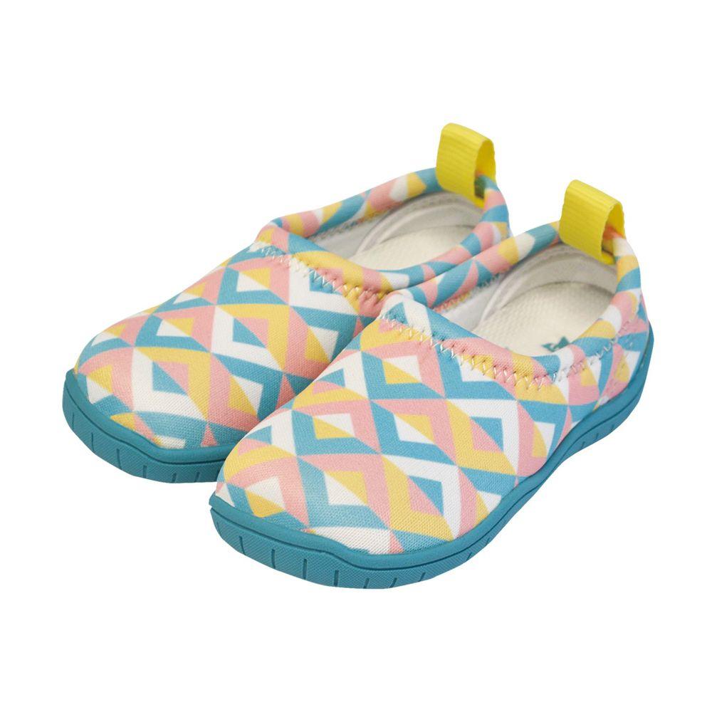 SkippOn - 兒童休閒機能鞋 - ISEAL VU系列-幾何馬卡龍