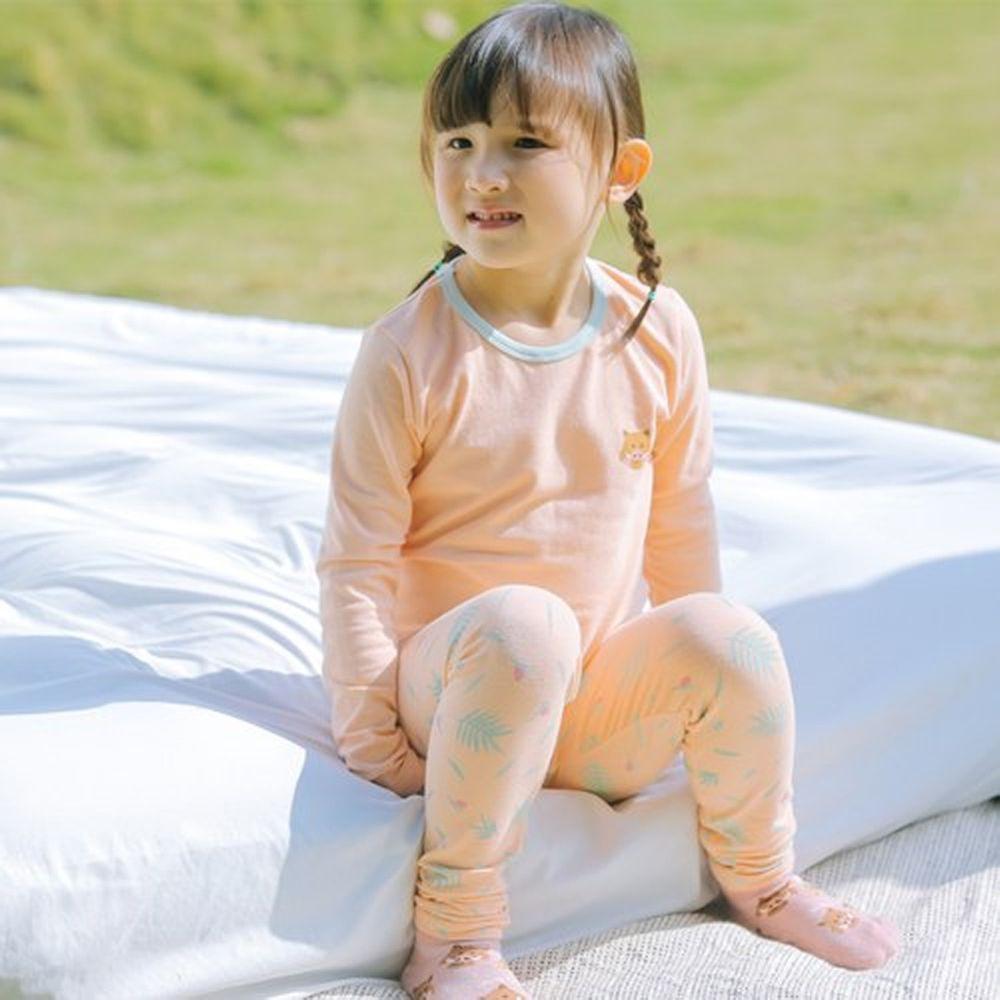 minihope美好的親子生活 - 四季居家套裝-野豬-粉橘
