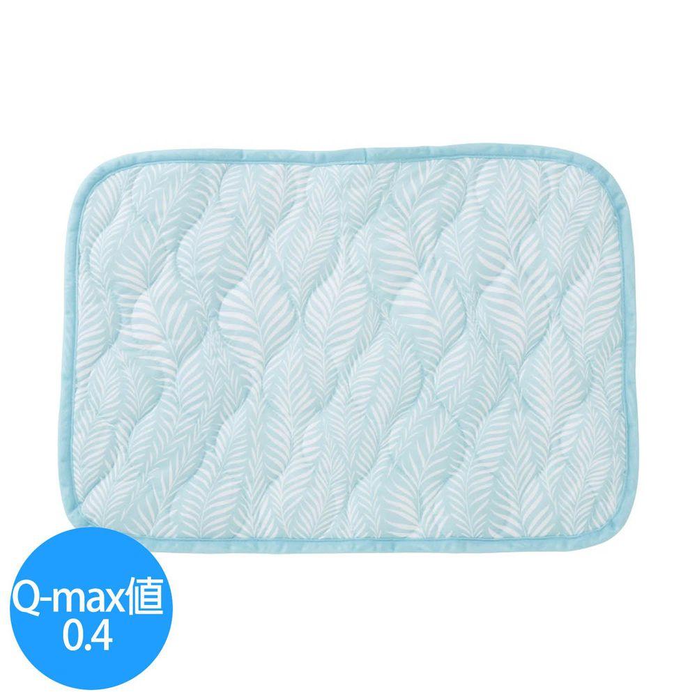日本小泉 - 節電對策冷感波浪紋枕頭墊-搖曳水草-薄荷 (43x63cm)