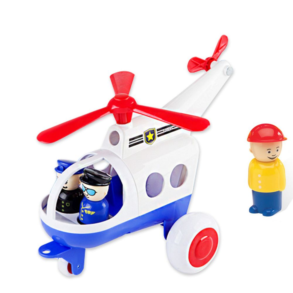 瑞典Viking toys - Jumbo救援特搜隊(含2隻人偶)-30cm
