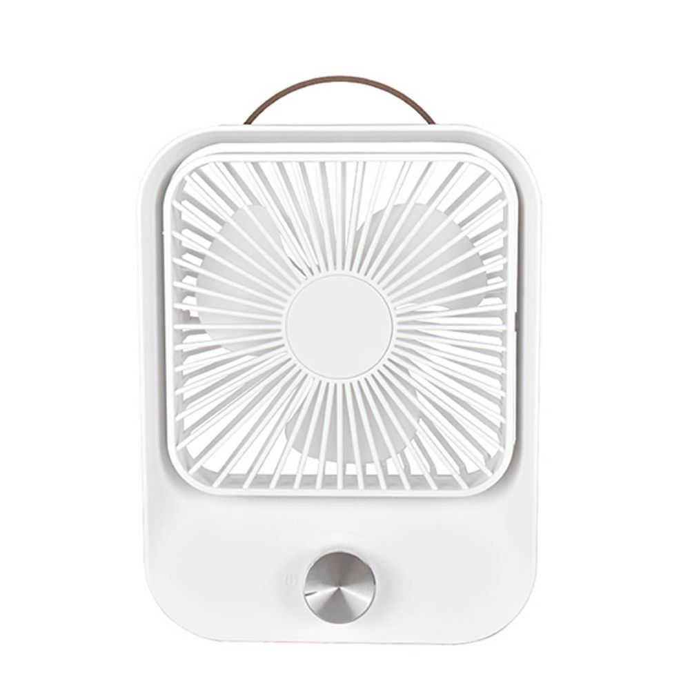 KINYO - 靜音復古桌扇 (UF-5750)-經典白 (W157xH208xD50mm)