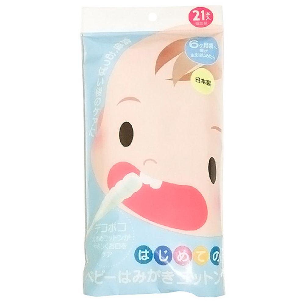 akachan honpo - 嬰幼兒用潔牙棉棒