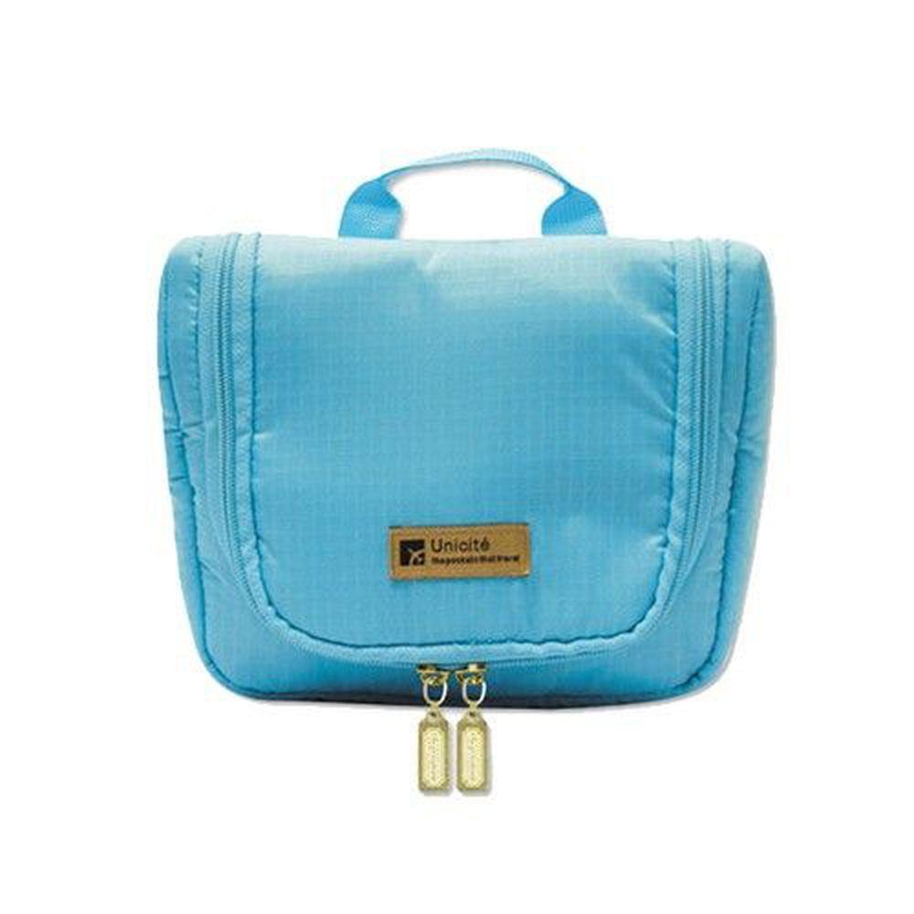 Unicite - 旅行用浴室收納袋(M)-藍