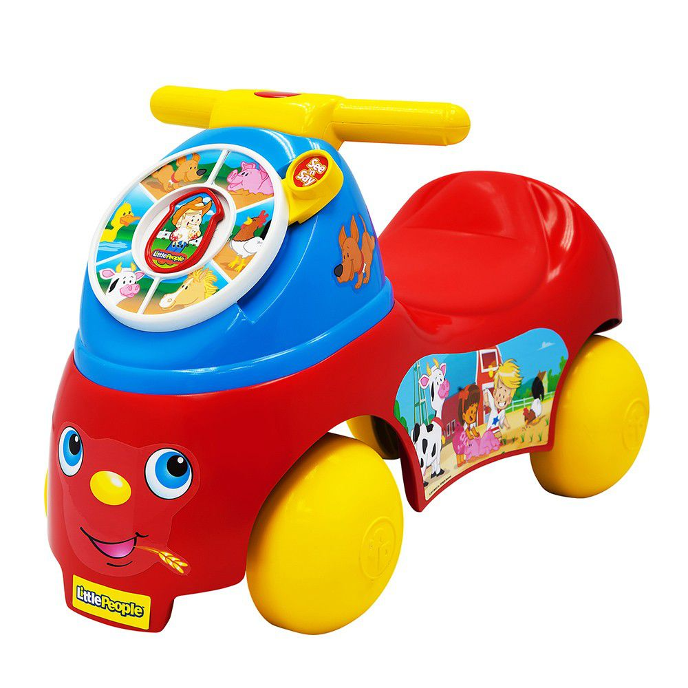 美國Fisher-Price 費雪 - 費雪牌little people 歡樂農場騎乘玩具
