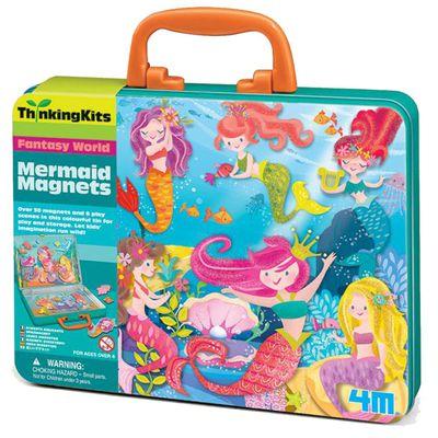 小美人魚磁貼組 Mermaid magnets