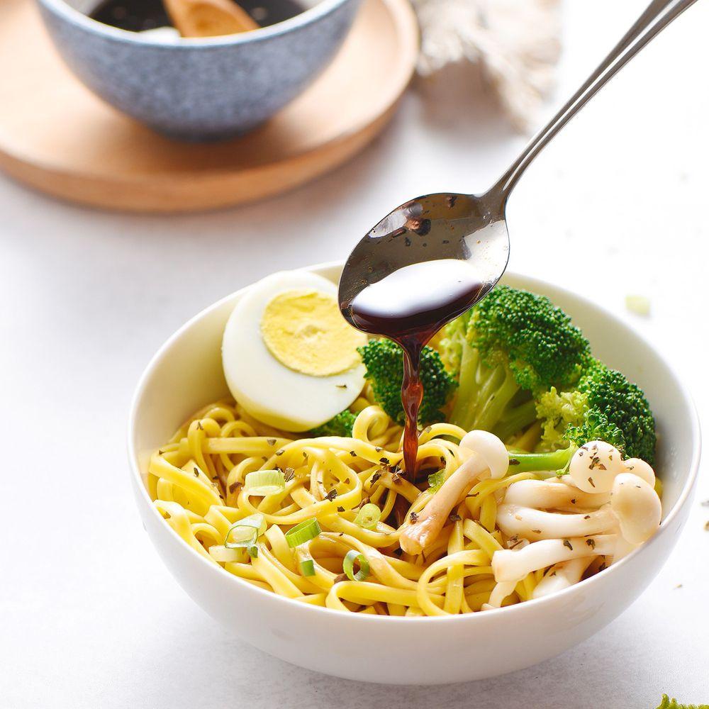 森林麵食 - 黃金南瓜乾麵X油蔥拌醬/4包入-125g/份
