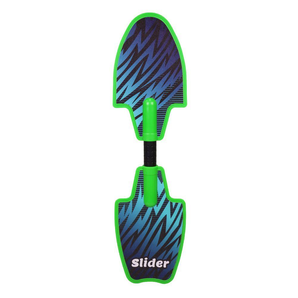 Slider 滑來滑趣 - Slider精靈蛇板-綠 (81x22x12cm)