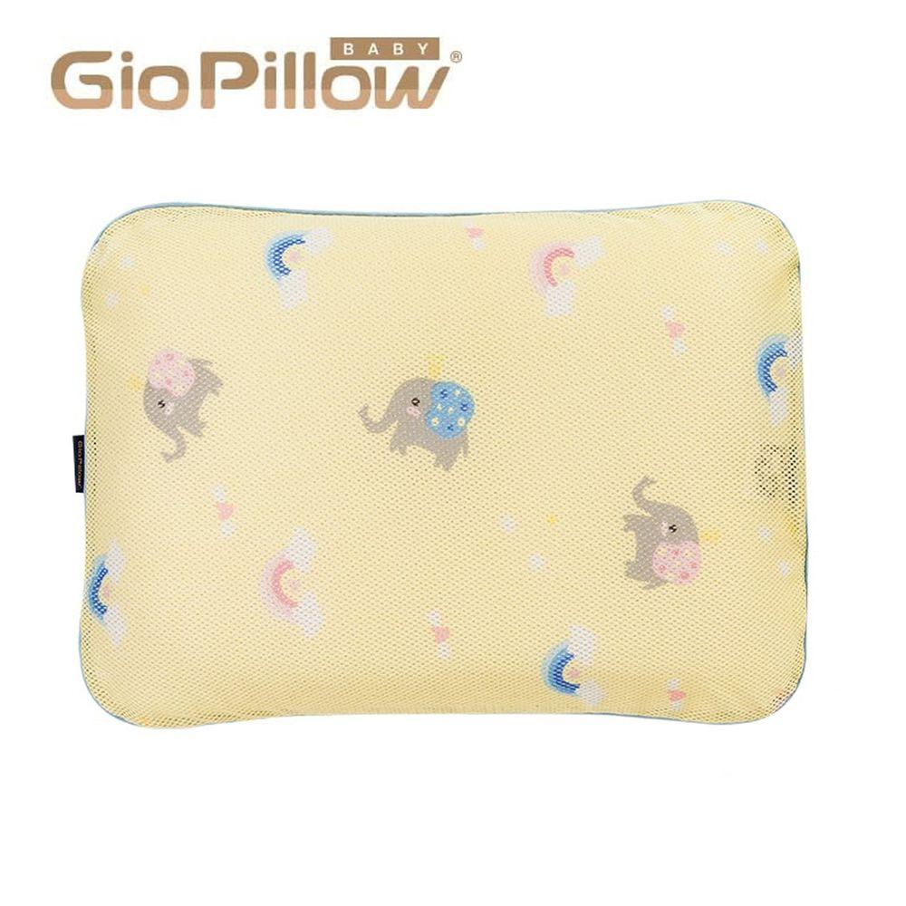 韓國 GIO Pillow - 專用排汗枕頭套-派對小象 (L號)
