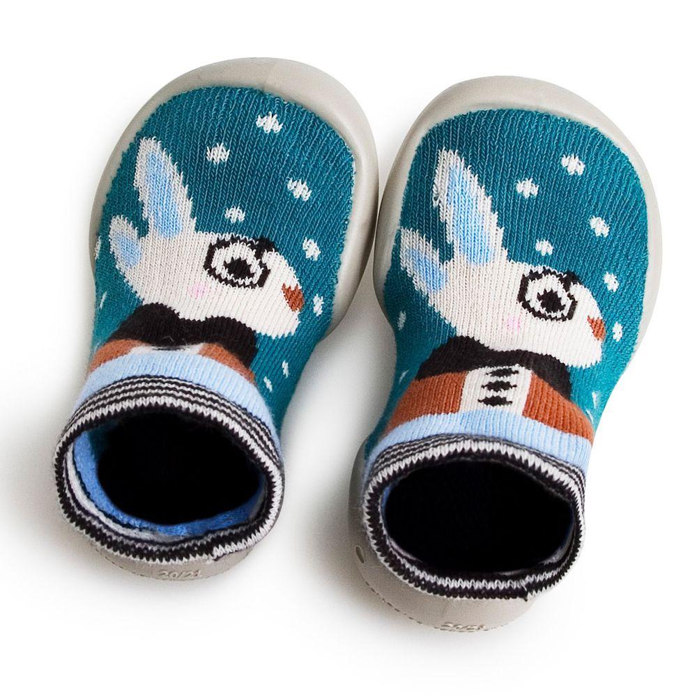 法國 collegien - 法國手工室內鞋-白兔寶寶