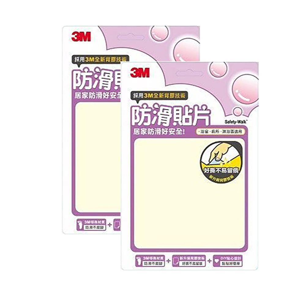 3M - 防滑貼片超值組-透明 (6入x2)
