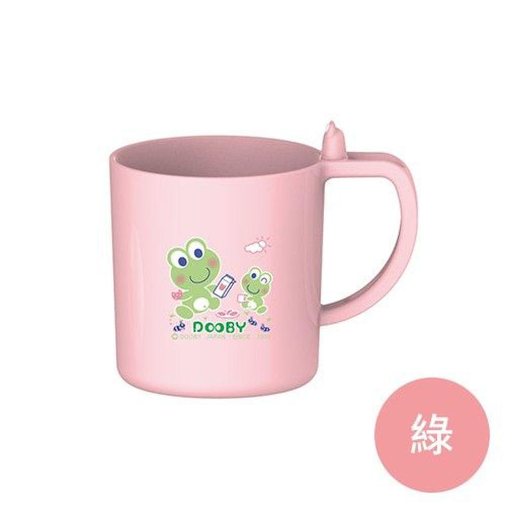 DOOBY 大眼蛙 - 耐溫漱口杯-綠-240mL