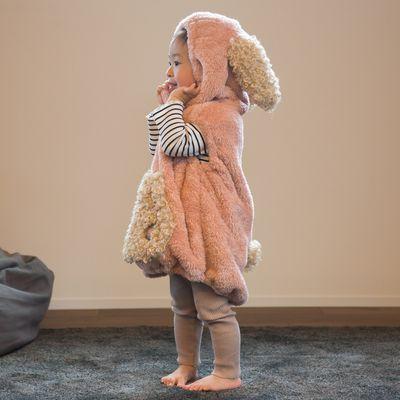 動物造型連帽超柔軟保暖背心
