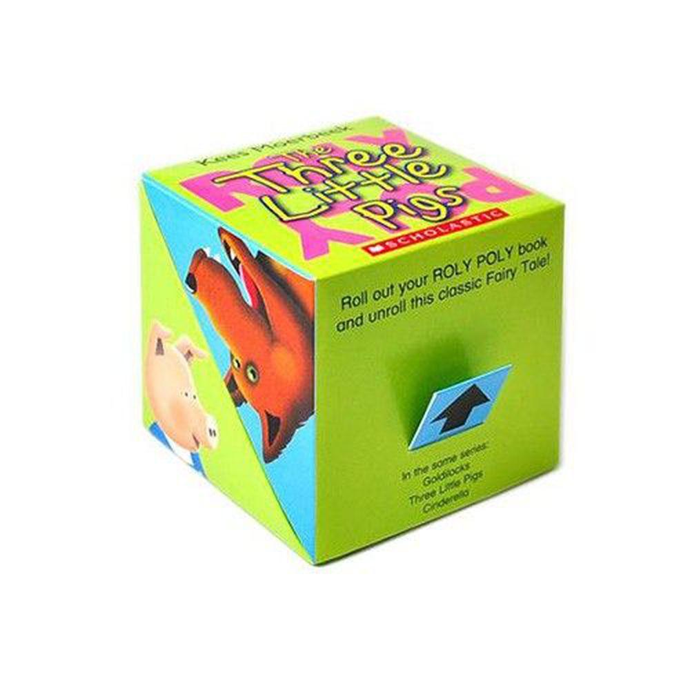 Scholastic - 魔術方塊書-三隻小豬