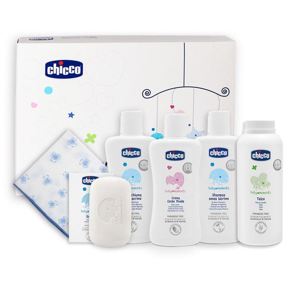 義大利 chicco - 寶貝嬰兒沐浴護膚禮盒