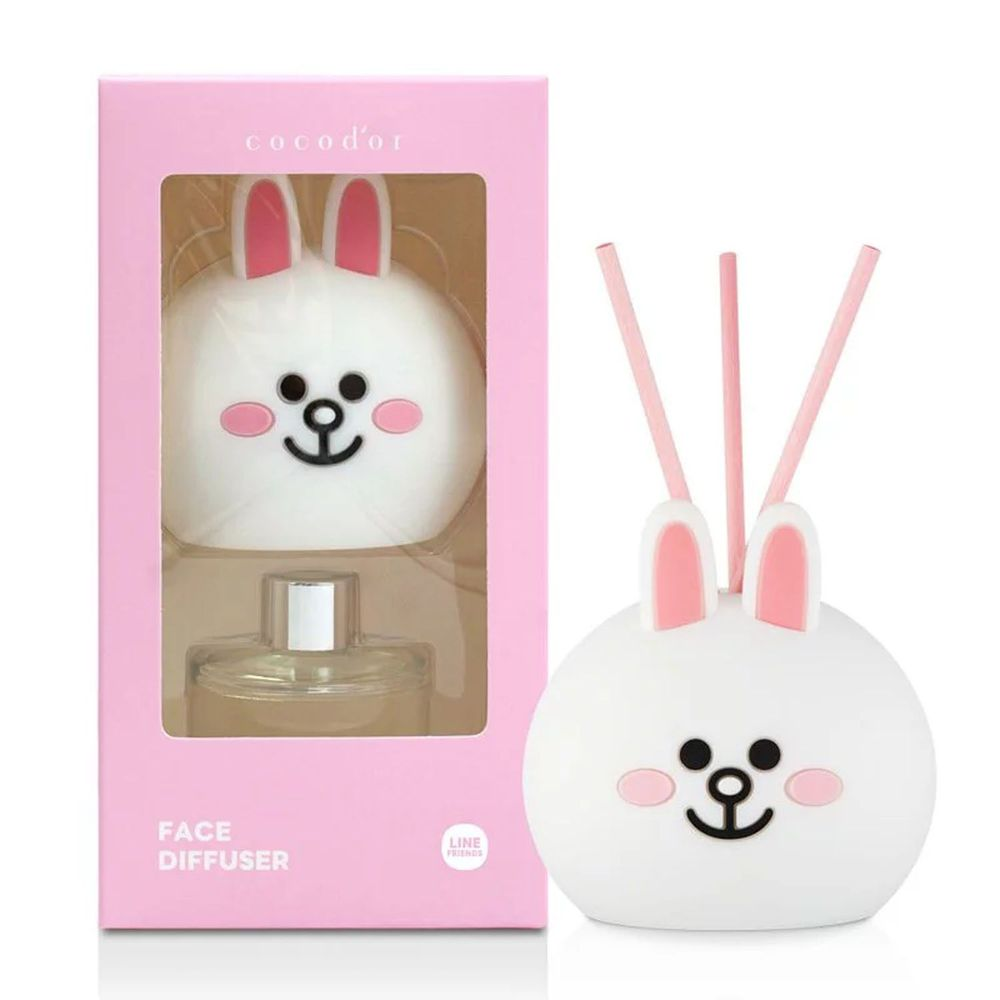 韓國 cocodor - BROWN & FRIENDS造型系列擴香瓶-兔兔(櫻花蘇打)-50ml