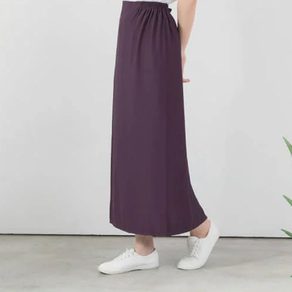 貝柔 Peilou - 3M防曬遮陽裙-素色-深紫色 (FREE SIZE)