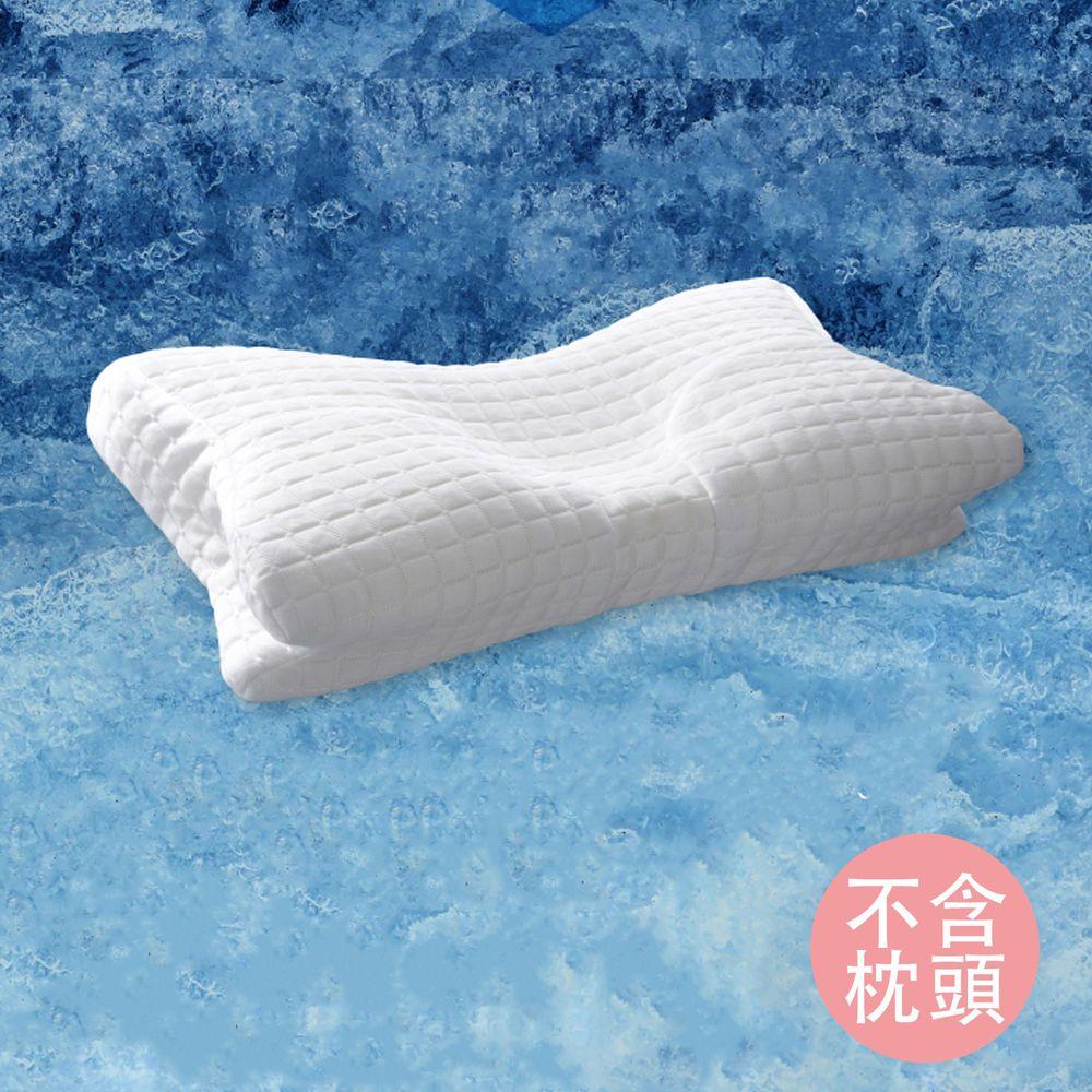 日本 SU-ZI - AS 系列枕專用替換接觸冷感枕套-白