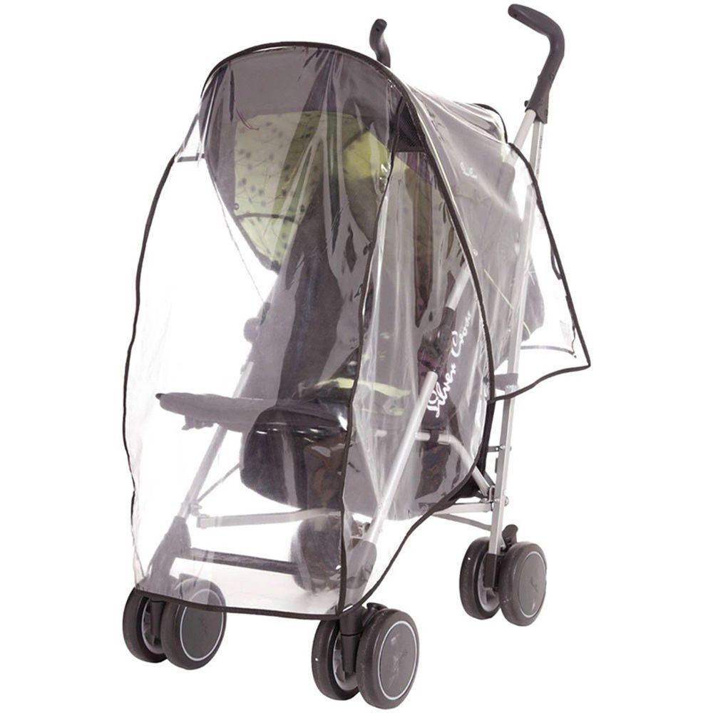 英國 JoJo Maman BeBe - 透明推車雨罩