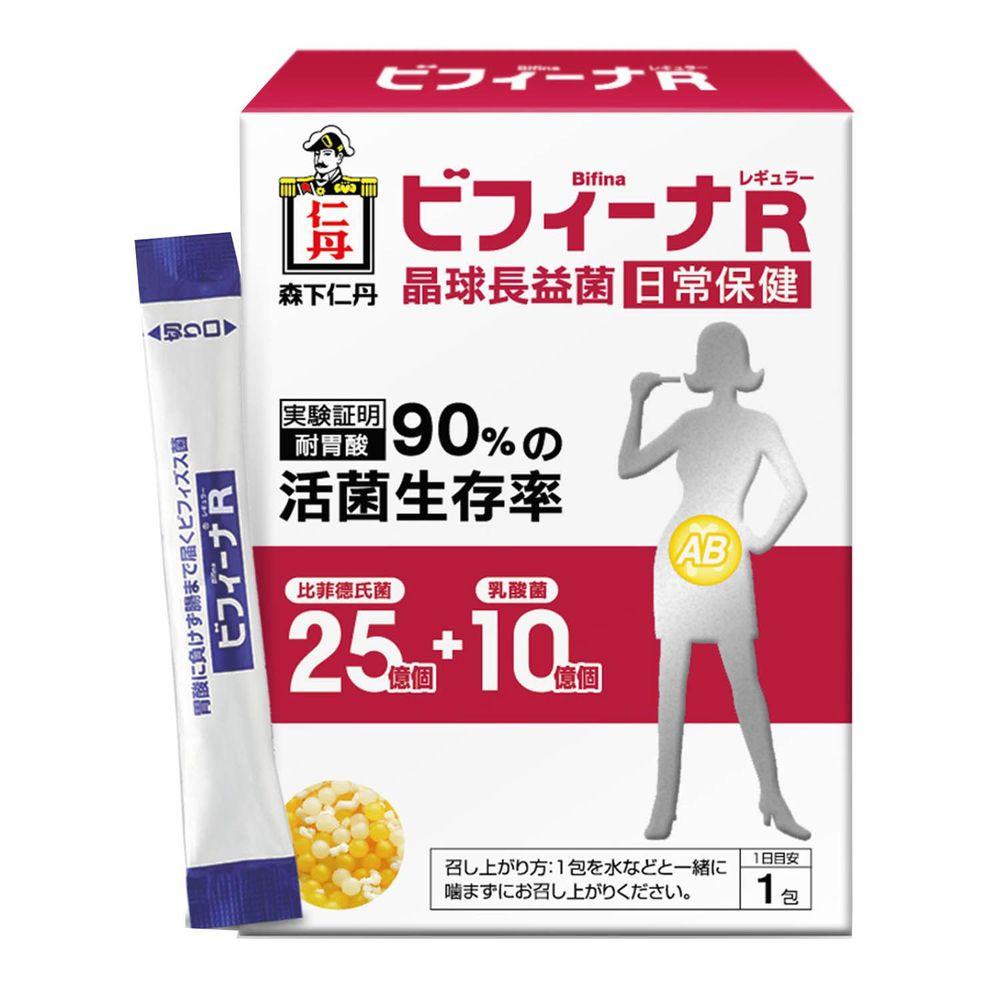 日本森下仁丹 - 25+10晶球長益菌-日常保健(30條/盒)X1盒-學齡前後體驗組