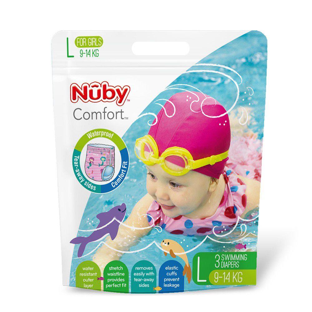 Nuby - 游泳尿布-(女/L)
