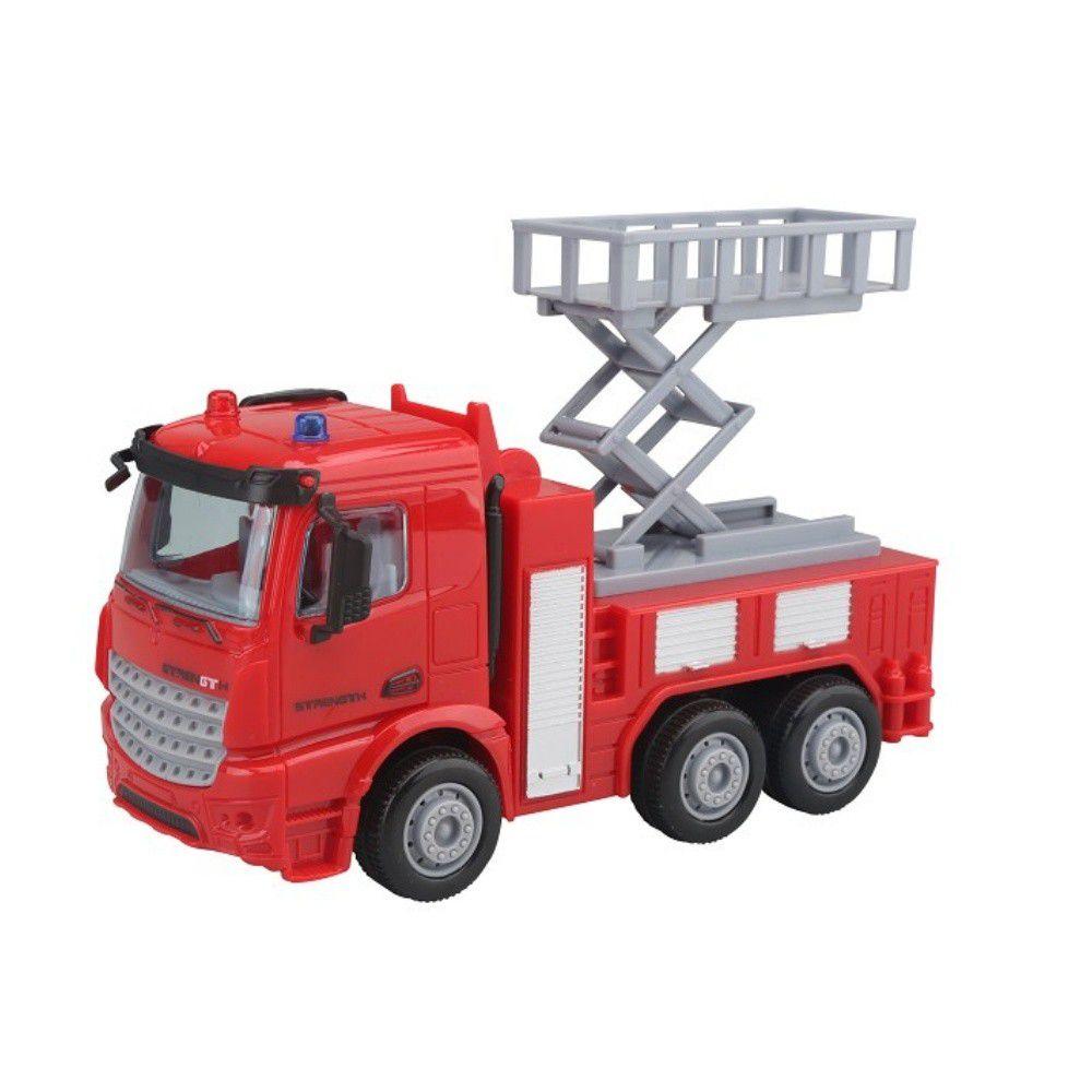 樂彩森林 - 1:40磨輪車系列-消防升降車