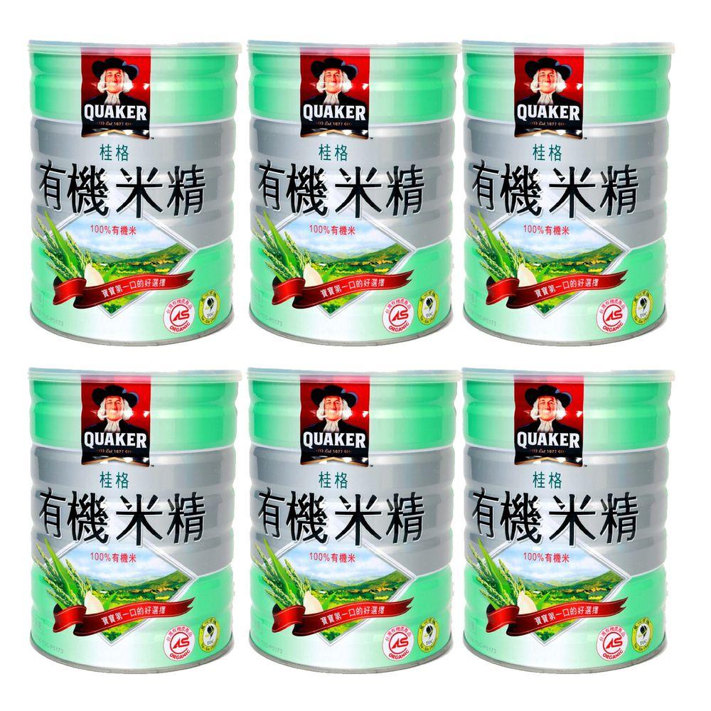 桂格 - 桂格有機米精-6罐-500gx6罐