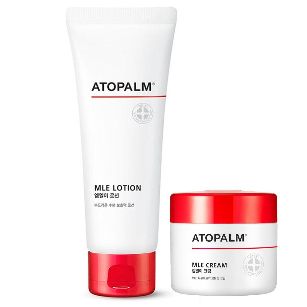 ATOPALM 愛多康 - 舒敏全效修護霜+舒敏全效修護乳液-65ml+120ml