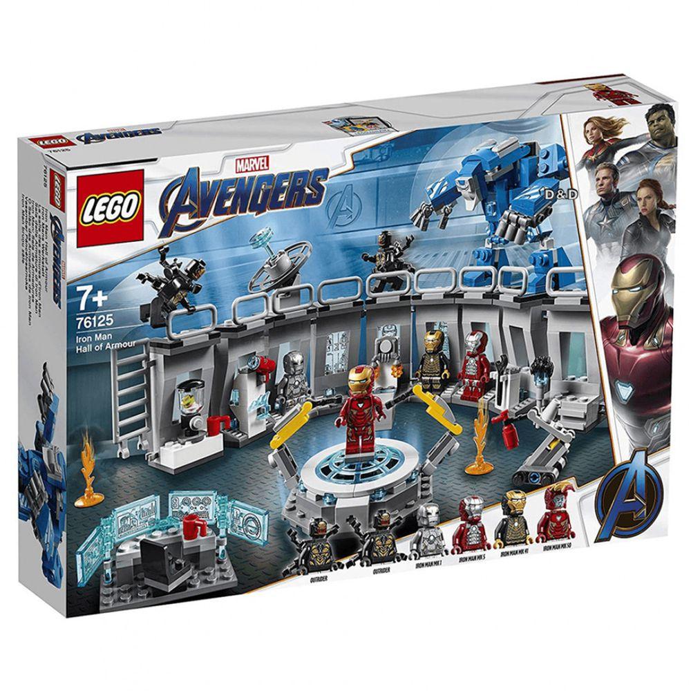樂高 LEGO - 樂高 SUPER HEROES 超級英雄系列 - Iron Man Hall of Armor 76125-524pcs