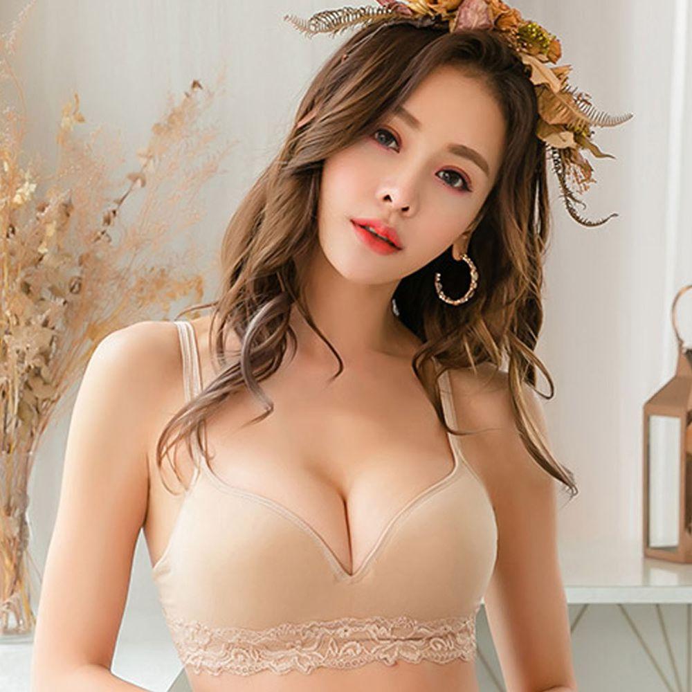 NANA MAGIC - LOVEBRA(II)薔薇之戀‧無痕內衣褲-記憶鋼圈/軟鋼圈-膚-買衣送褲