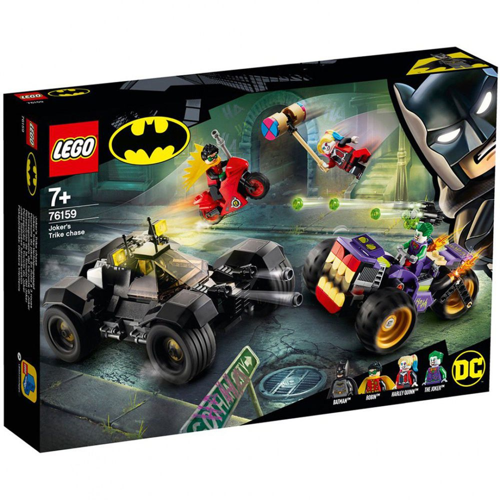樂高 LEGO - 樂高積木 LEGO《 LT76159 》SUPER HEROES 超級英雄系列 - Joker's Trike Chase-440pcs