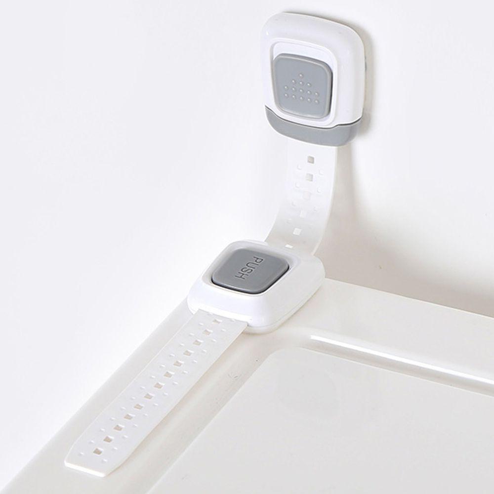 家窩 - 免鑽孔兒童安全收納櫃防倒固定器-2入