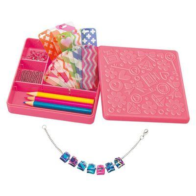 粉彩串珠吊飾 Shrink Dinky Beads-3條手鍊