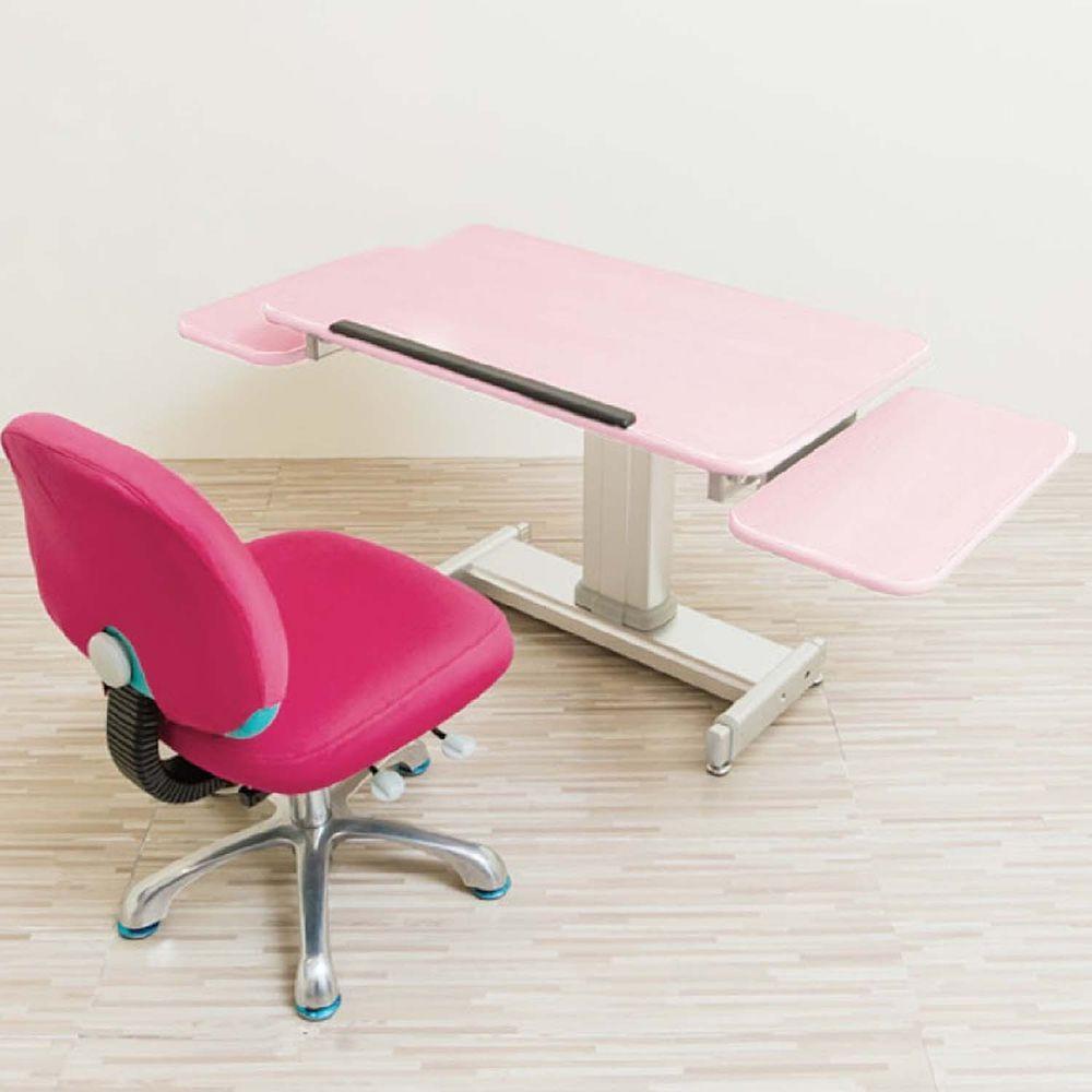 MyTolek 童樂可 - 80舒適版樂適桌+雙側板+挺立椅-桃樂絲粉