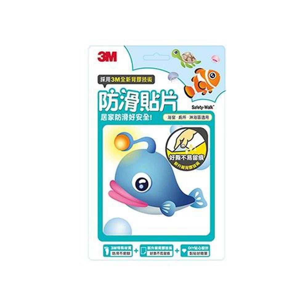 3M - 防滑貼片-海洋生物-6入