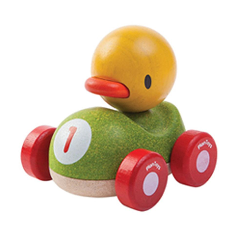 泰國 Plantoys - 寶貝小鴨賽車
