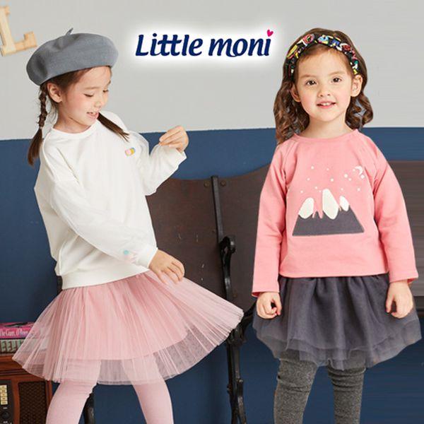 女寶最愛穿著第一名!Little moni 甜美紗裙、內搭褲