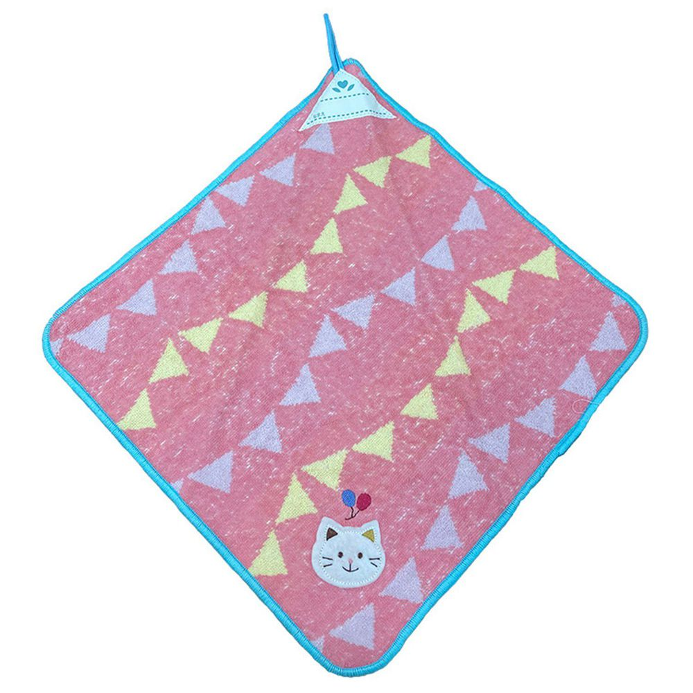 akachan honpo - 擦手巾-小貓 (35×35cm)