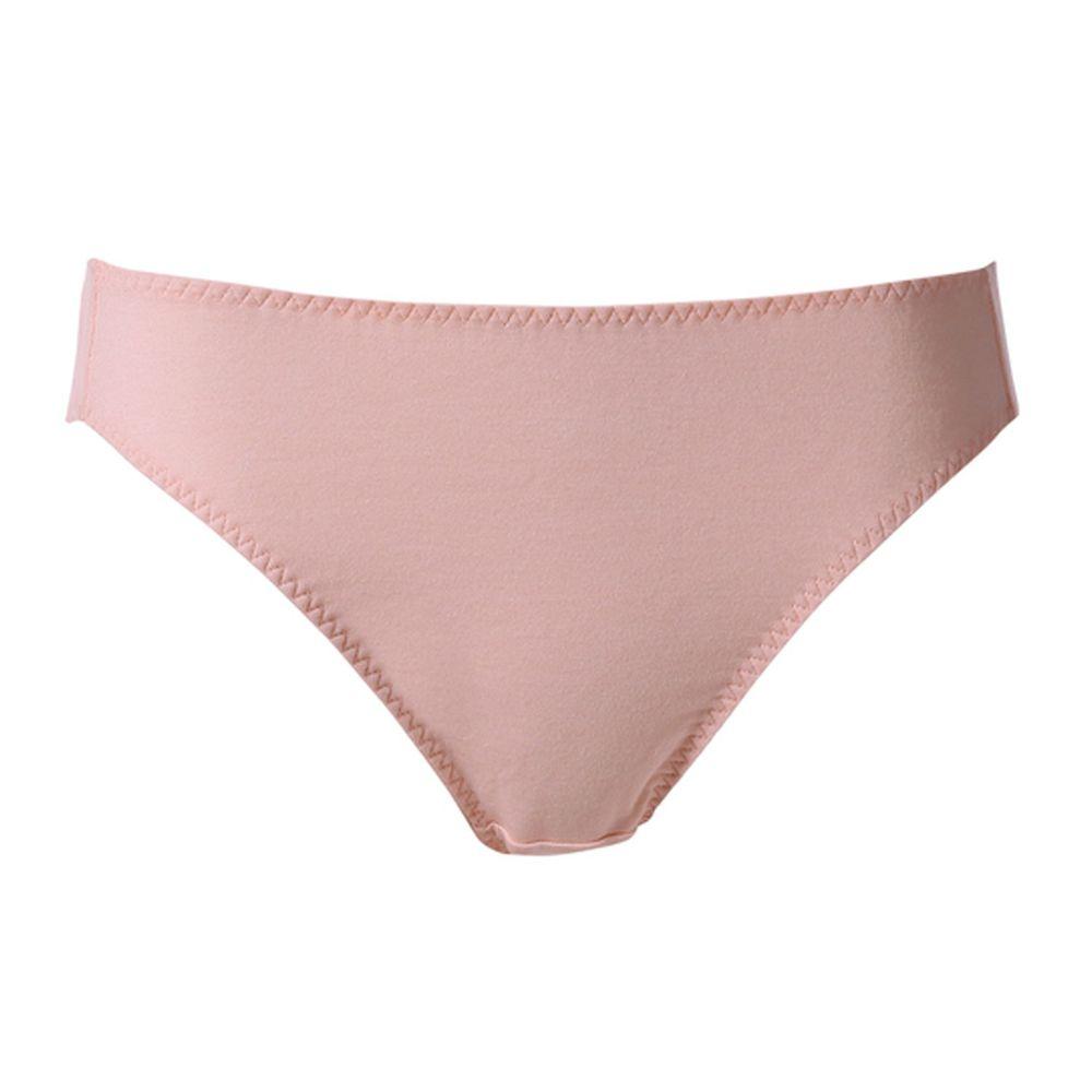 貝恩 Baan - 時尚簡約低腰款內褲-亮膚金
