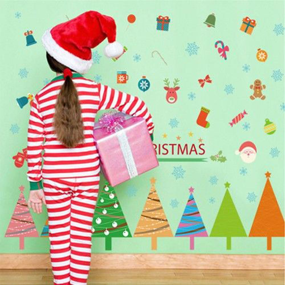 JB Design - 時尚壁貼-溫韾聖誕樹-70cm*50cm