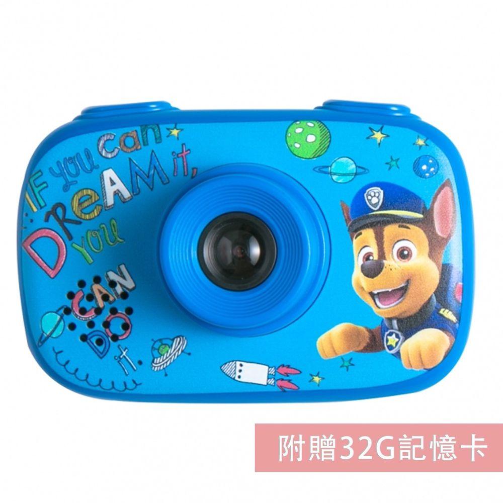 汪汪隊立大功 - 【新品】汪汪隊立大功授權童趣數位相機-藍-【升級附贈】32G記憶卡